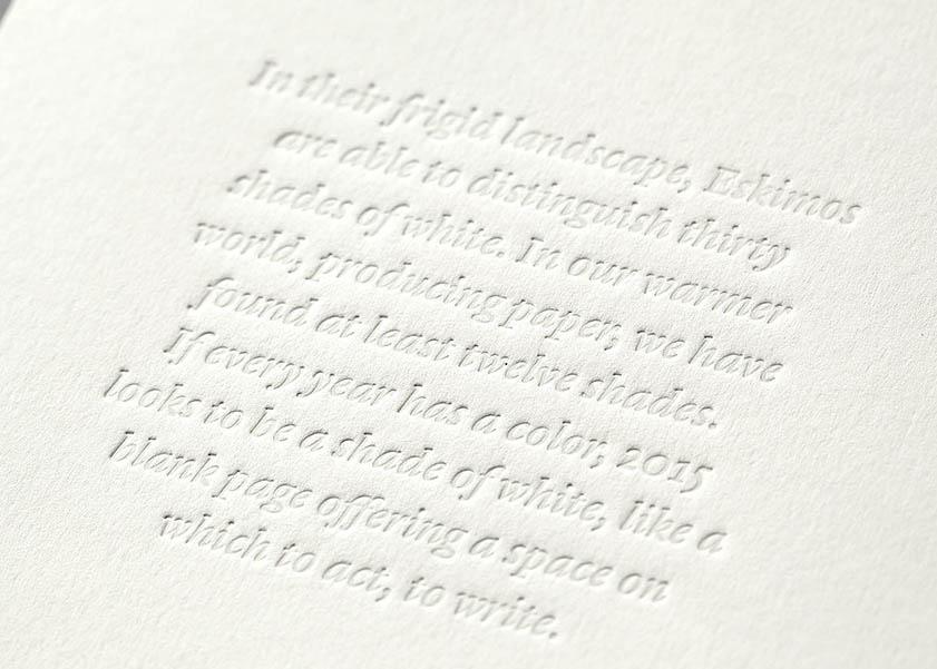Impresión letterpress Minke