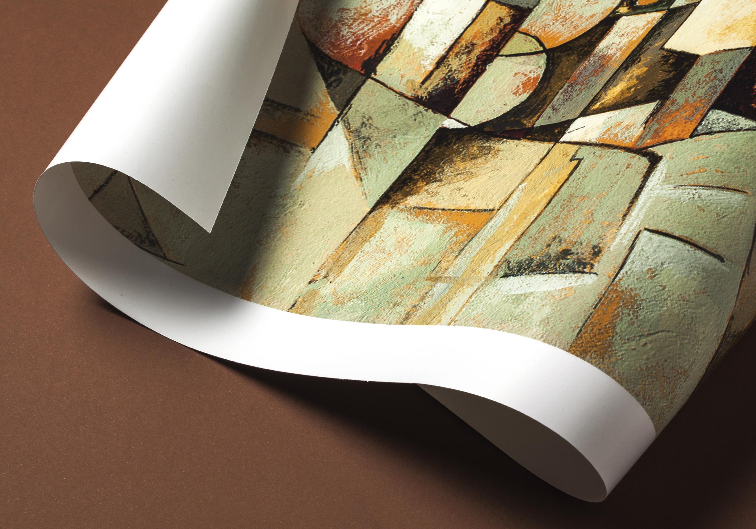 Detalle del póster Cubism de LetterArt