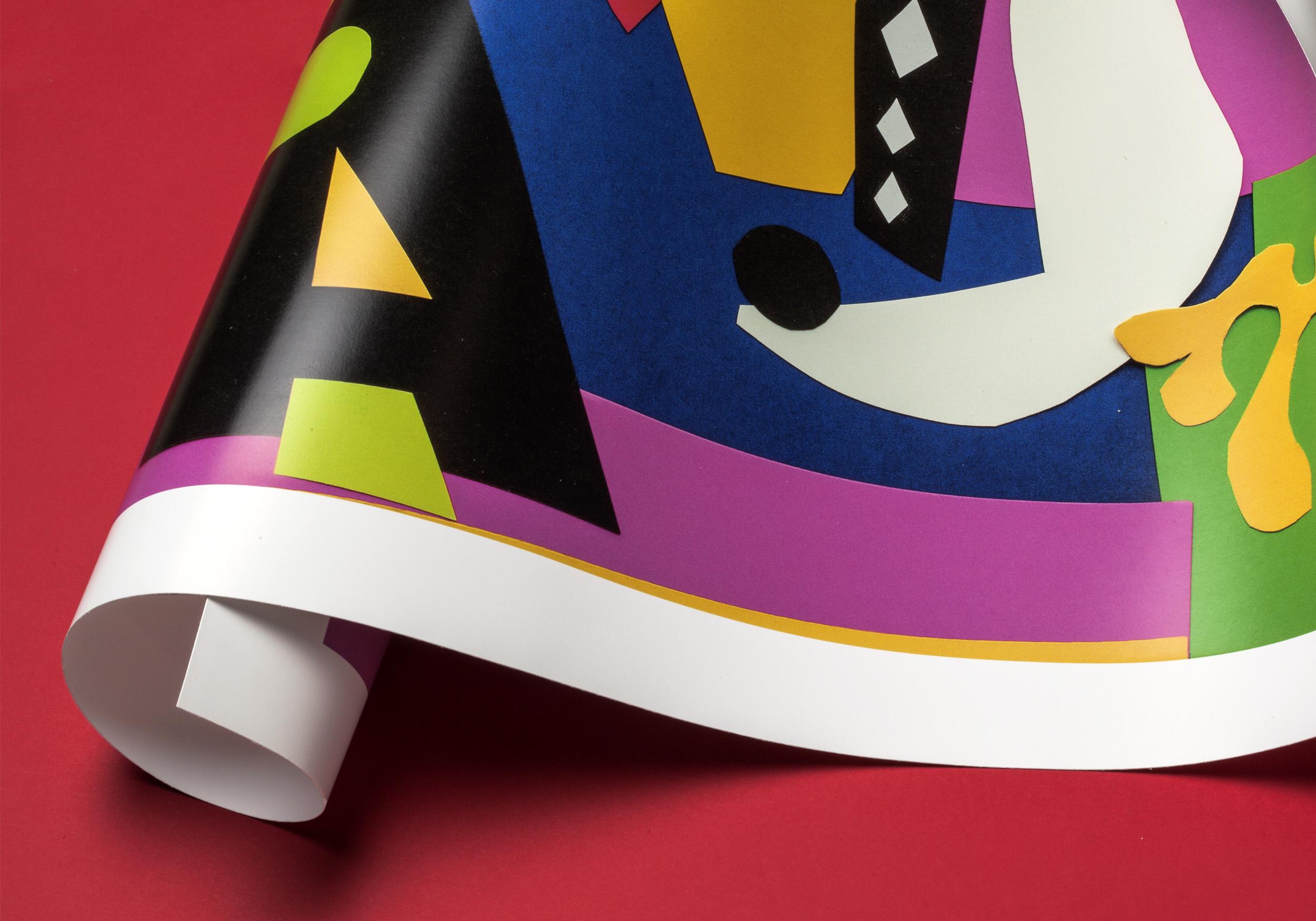Detalle del póster Fauvism de LetterArt