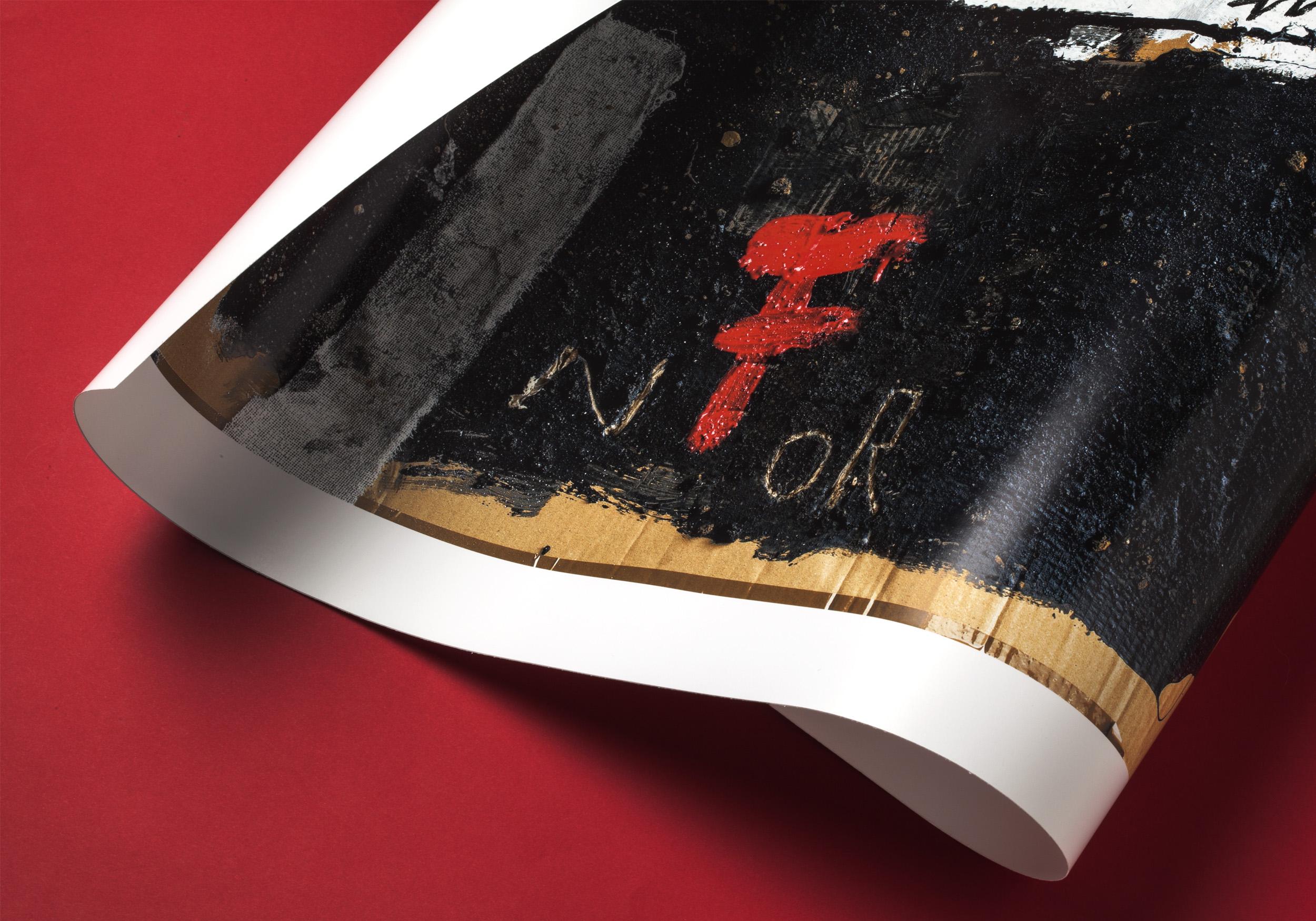 Detalle del póster Informalism de LetterArt