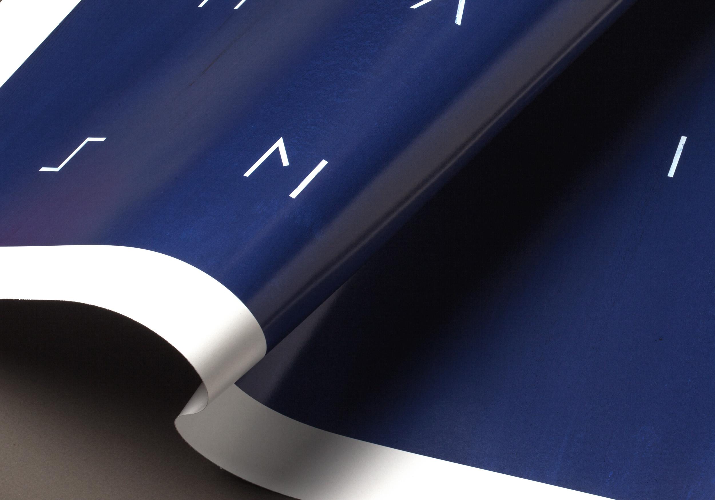 Detalle del póster Minimalism de LetterArt