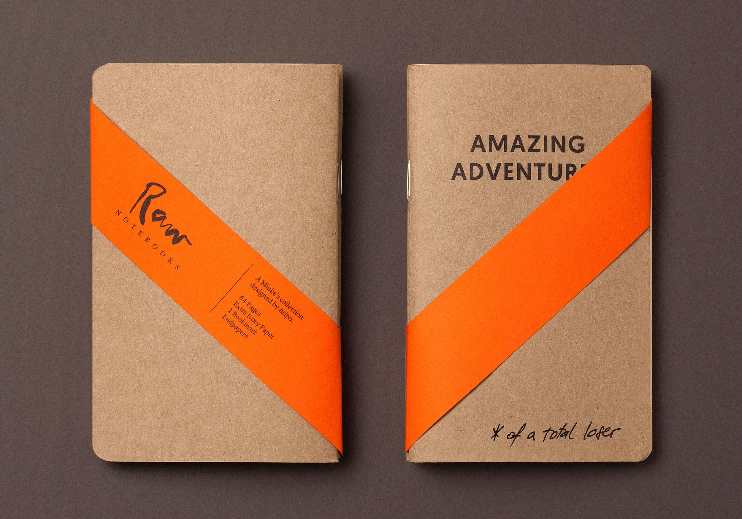 Amazing adventures Raw notebook con faja