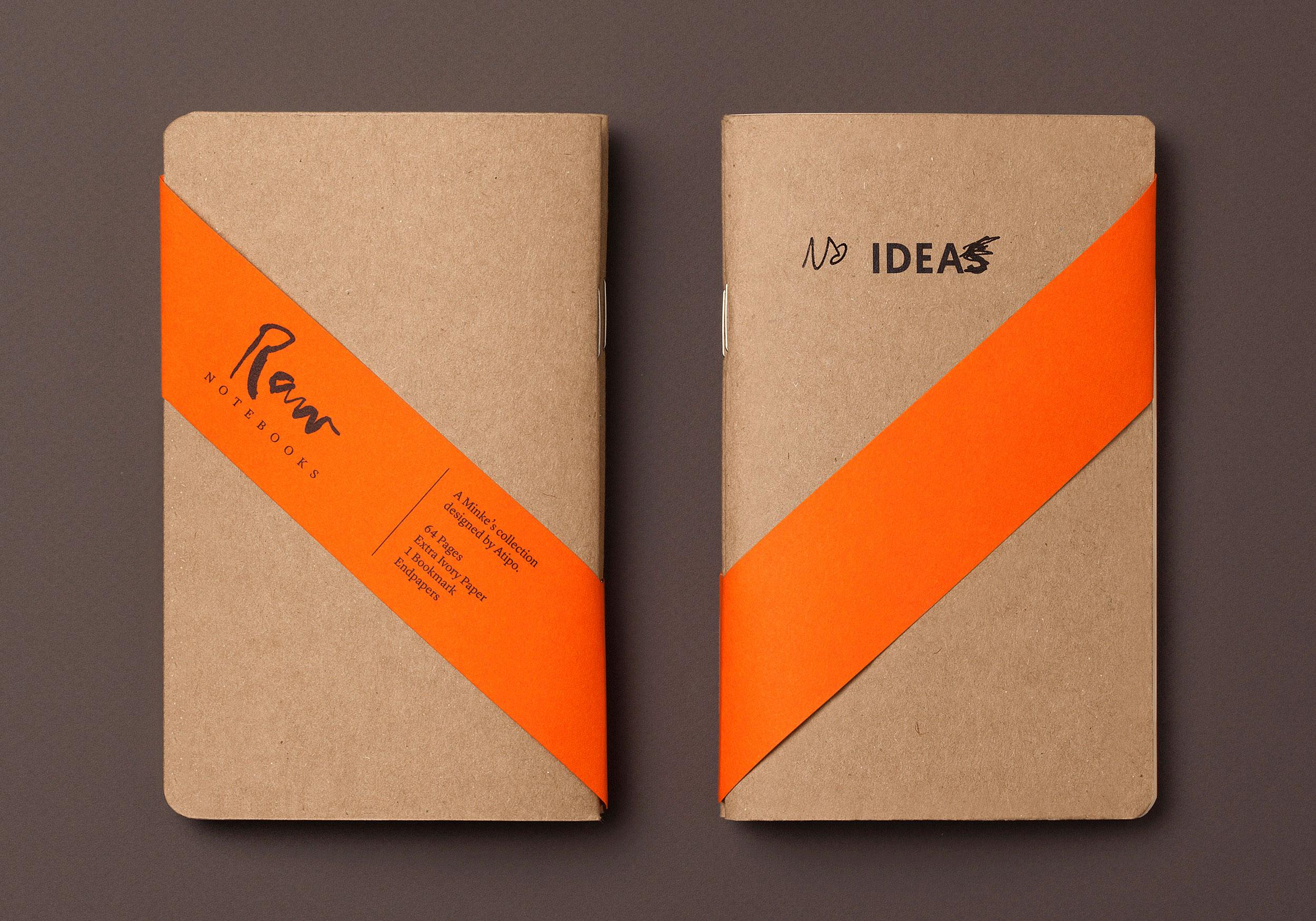 Idea Raw notebook con faja