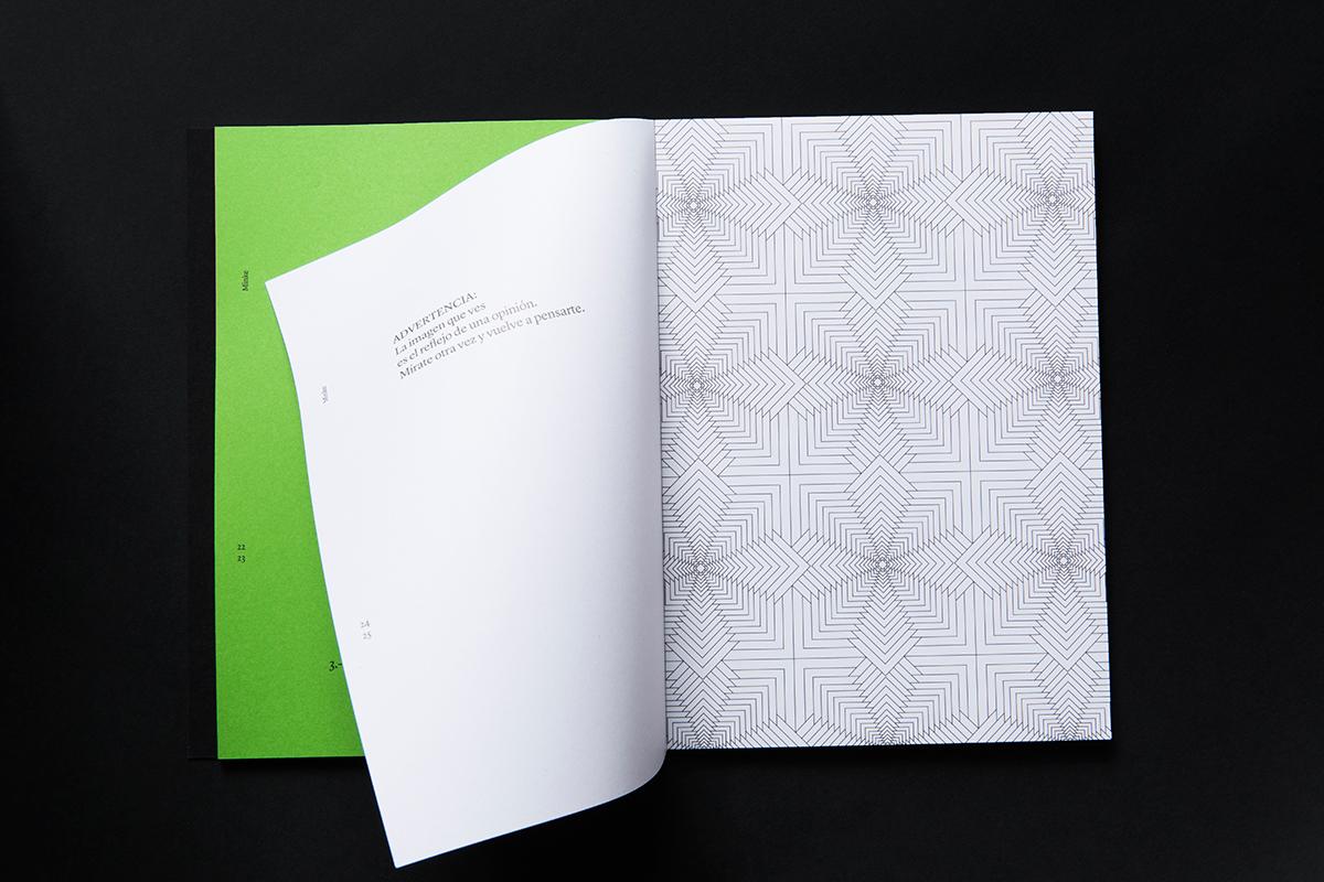 Páginas interiores impresas en offset del libro Antes de perder la esperanza