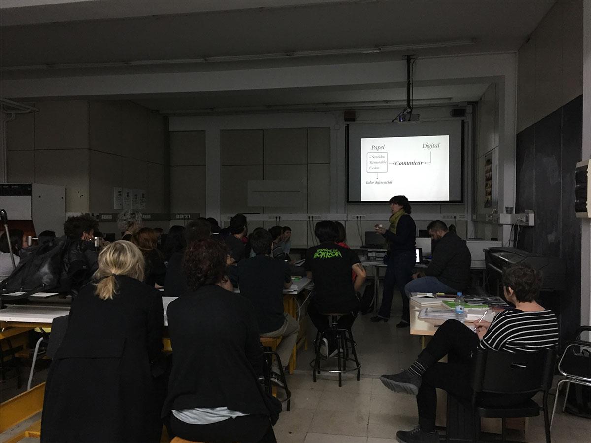 Charla sobre producción gráfica en Artediez Madrid