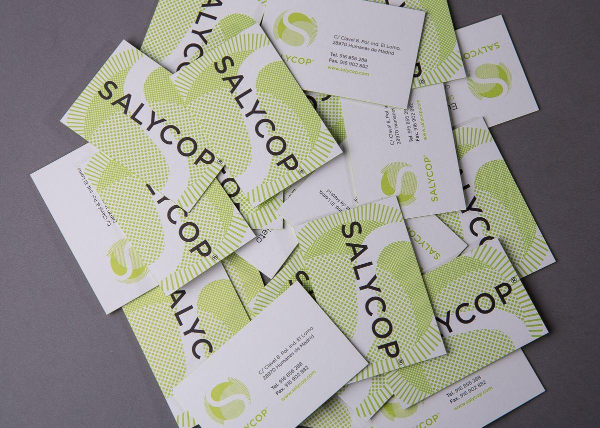 Salycop tarjetas de visita en papel Cyclus Offset