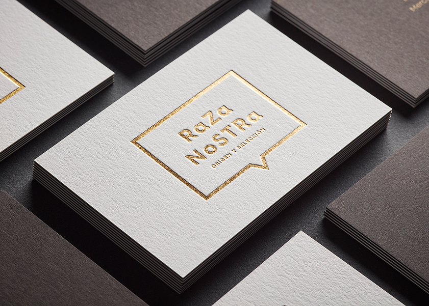 Business cards Raza Nostra